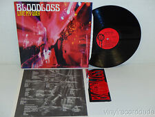 BLOODLOSS Live My Way LP In The Red Recordings ITR 039 (1995) MUDHONEY Mark Arm