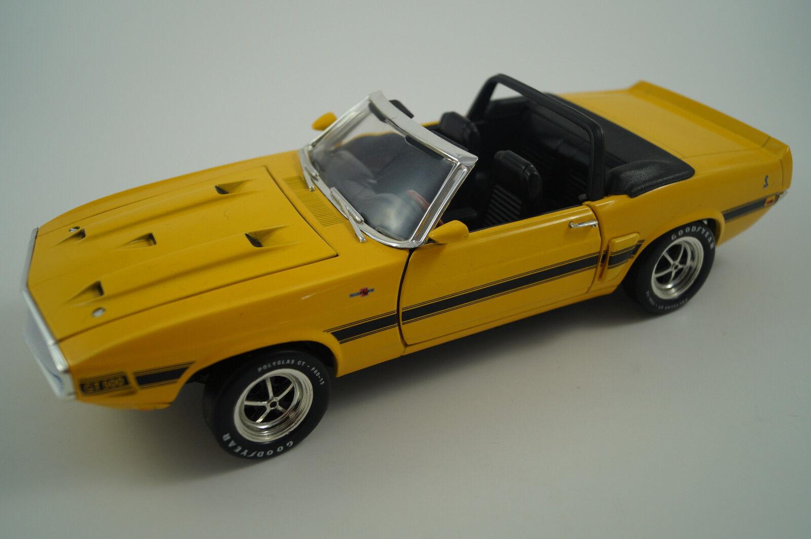 ERTL voiture miniature 1 18 Shelby gt-500 1969 Cabrio