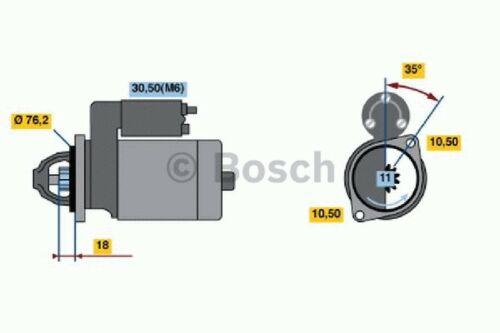 100/% NUEVO Giratorio Electrics Motor Arranque Bosch 0001107046 Nuevo en Caja