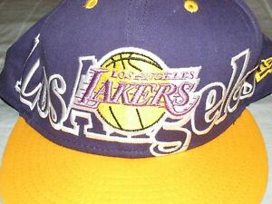 info for 0921a 7539f Image is loading Los-Angeles-Lakers-New-Era-NBA-Hardwood-Classics-