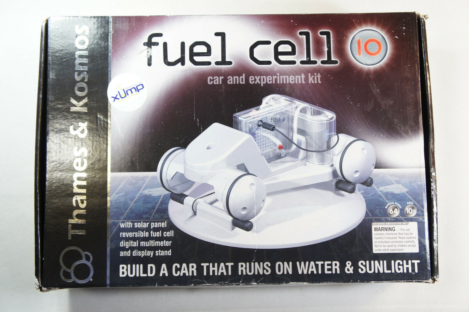 NEW SEALED 2009 Thames & Kosmos Fuel Cell 10 Car and Experiment Kit