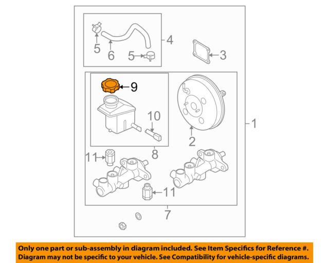 s l640 585311g000 brake reservoir tank cap oem for hyundai kia accent rio