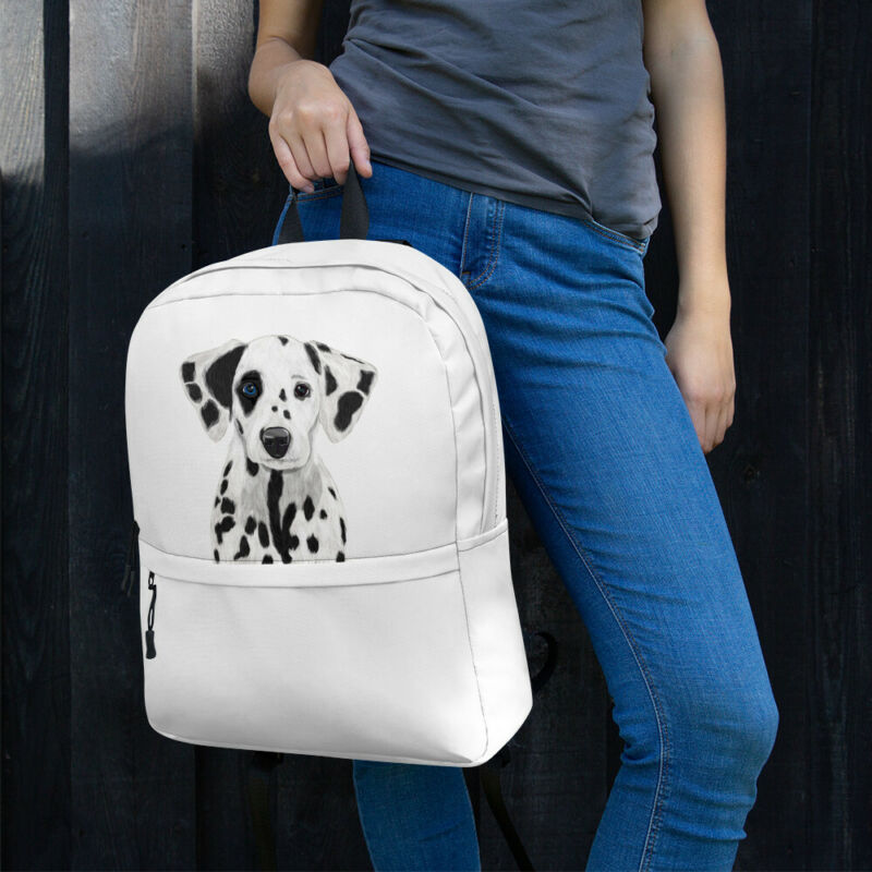 Dalmatian Dog, Limited Edition | Backpack Clear And Distinctive