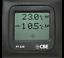 Termometro-Interior-Exterior-CBE-PT638-Gris-12v-Camper-Autocaravana-Barco-PT-638 miniatura 1