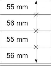 Lindner 802420P T-Blanko-Blätter - 10er-Packung