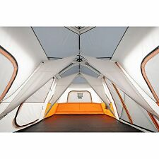 Cabin Tent Ozark Trail 12 Person C&ing Family Outdoor Instant Tents 3 Room  sc 1 st  eBay & Ozark Trail 16u0027x16u0027 12 Person 3 Room Cabin Dome Tent Outdoor ...