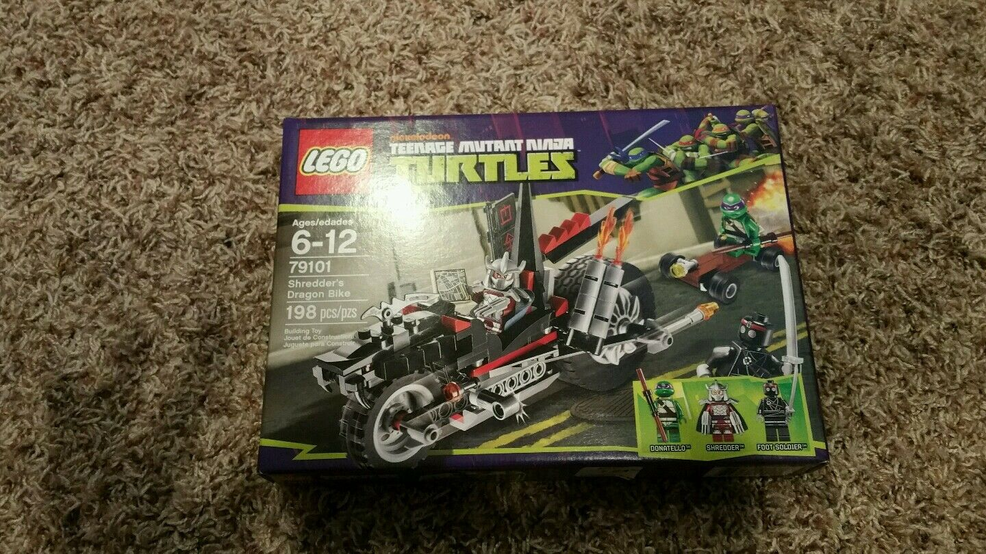 LEGO 79101 TEENAGE MUTANT NINJA TURTLES SHREDDERS DRAGON BIKE NEW IN BOX