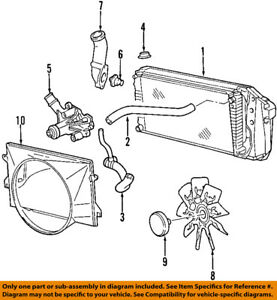 ford oem 97 02 e 150 econoline club wagon radiator coolant lower rh ebay com Kawasaki 22 HP OHV Engine Schematic Kawasaki 22 HP OHV Engine Schematic