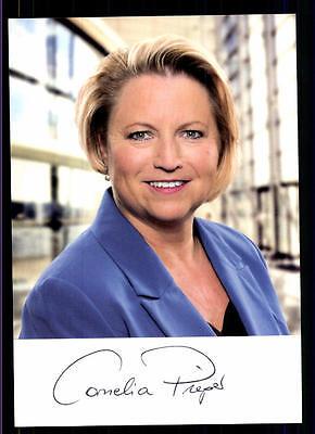 Cornelia Pieper Autogrammkarte Original Signiert ## Bc 56032 Einfach Zu Schmieren Politik