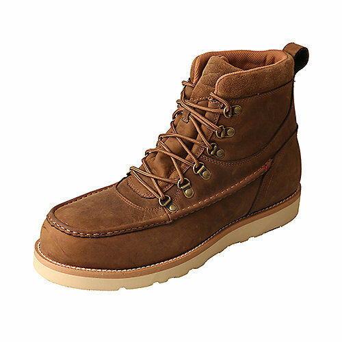 374c8e354e5 Twisted X BOOTS Men's Mcaaw01 Casual Work Boot Distressed Saddle Leather  Size 9.5 M