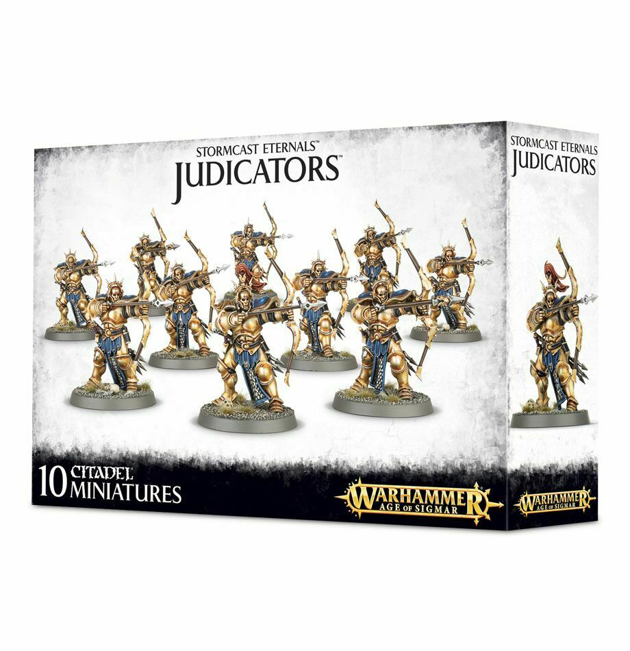 Stormcast Eternals Judicators Warhammer Age of Sigmar 20% off UK rrp