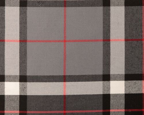 GENUINE TARTAN POLY VISCOSE FABRIC 11oz MED WEIGHT-LARGE SELECTION-PER METRE