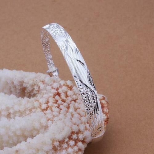 2020 New Fashion Xmas Gift Bronze 925Silver Charm Jewelry Bracelet//Bangle+925Bag