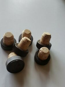 (6) TURKEY T-TopTasting Bar Top Cork Stoppers 19.5mm 3/4 ...