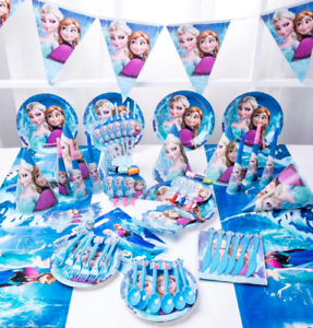 Disneys Frozen Tableware Party Decorations Supplies Free delivery UK Seller