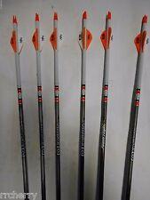 1//2 dozen 6 Easton Da/'Torch 400 Spine Hunting Arrows Blazer Vanes