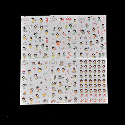 Aufkleber Spielzeug Kreative Aufkleber für DIY Album Tagebuch Telefon PD