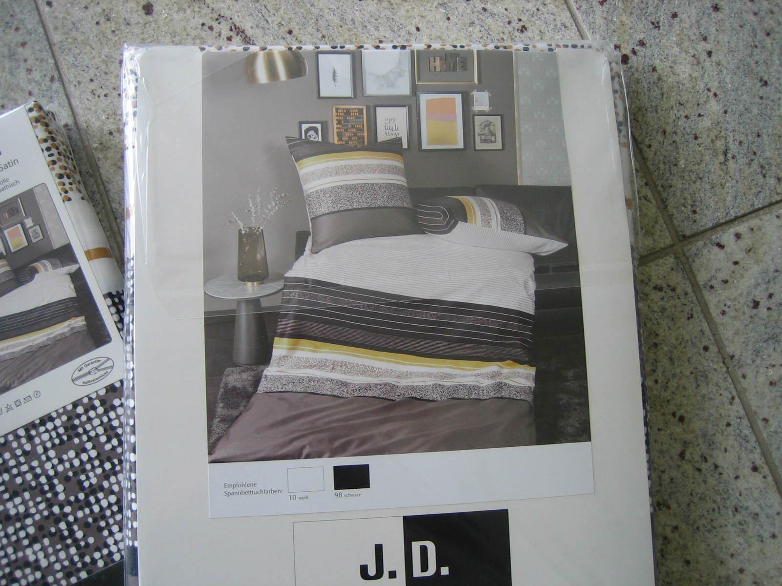 J.D. by Janine Bettwäsche Makosatin 100% Baumwolle