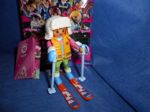 Playmobil 9333 girls serie 13 Skifahrerin unbespielt
