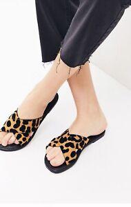women leopard print sandals   eBay