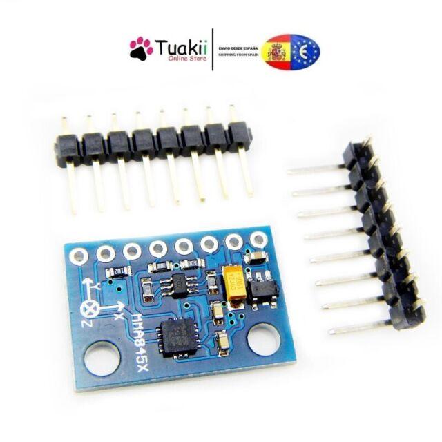 MMA7361 digital triaxial accelerometer precision tilt 3-Axis 5PCS MMA8452Q