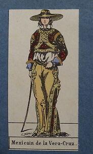 Gravure-COSTUME-HOMME-MEXIQUE-MEXICAIN-VERA-CRUZ-AMERIQUE-SUD-AMERICA-1850