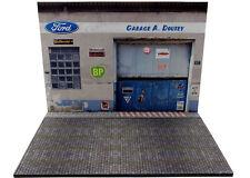 Diorama présentoir Ford Garage A. Doutey - 1/24ème - #24-2-E-E-004