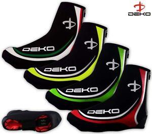 Deko-Cycling-Overshoes-Neoprene-Windproof-Shoe-Cover-Waterproof-Thermal-Fleece