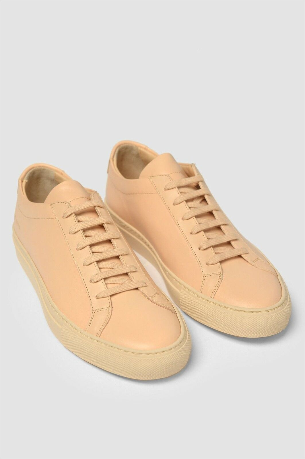 Scarpe casual da uomo  NEW WITH BOX COMMON PROJECTS ACHILLES LOW LEATHER SNEAKERS NATURAL 39 6
