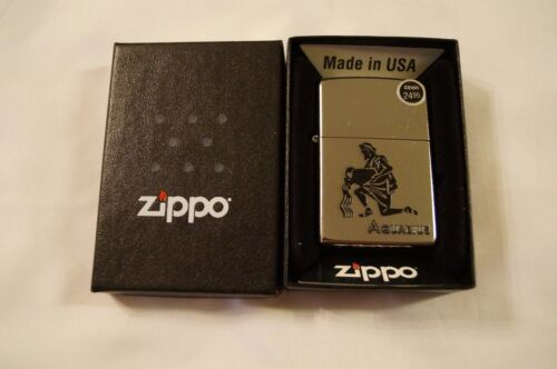 2015 Zippo Zodiac Aquarius Lighter New in the Box