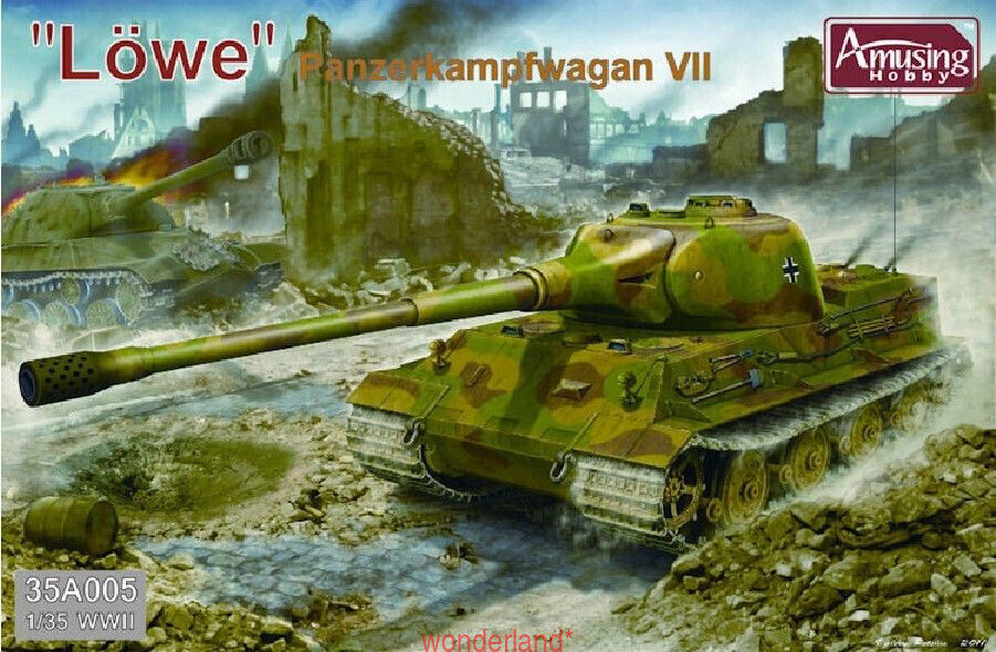 Amusing Hobby 35A005 1 35 Panzerkampfwagan VII  Lowe