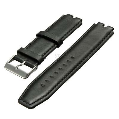 For Pebble Steel 2 Smart Watch Genuine Leather Wristwatch Band Strap Watchband