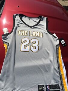detailed look 45be1 c4a7c Details about mens lebron james cleveland cavaliers nike jersey city  edition swingman