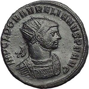 AURELIAN-receiving-wreath-from-woman-274AD-Rare-Ancient-Roman-Coin-i55626