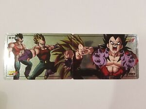 Carte-Dragon-Ball-Z-Special-Vegeta-4-Original-Laser-Prism-puzzle