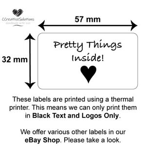 Product Seal Labels Pretty Packaging Label Box Stickers Business Tags
