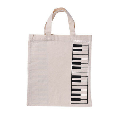NEW Fashion Black Piano Keys Music Handbag Tote Bag Shopping Bag Handbag Purses