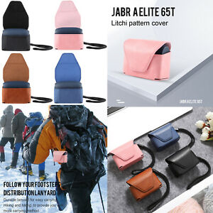 Leather-Bag-Case-Cover-Skin-for-Jabra-Elite-65t-True-Wireless-Earbuds-Headphones