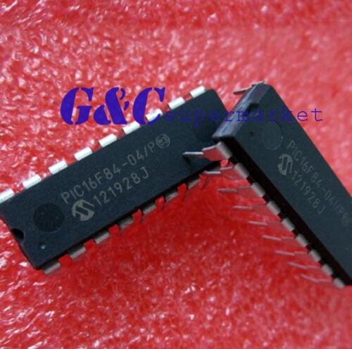 PIC16F84-04//P PIC16F84 MICROCHIP DIP-18 EEPROM 8-Bit Microcontroller NEW
