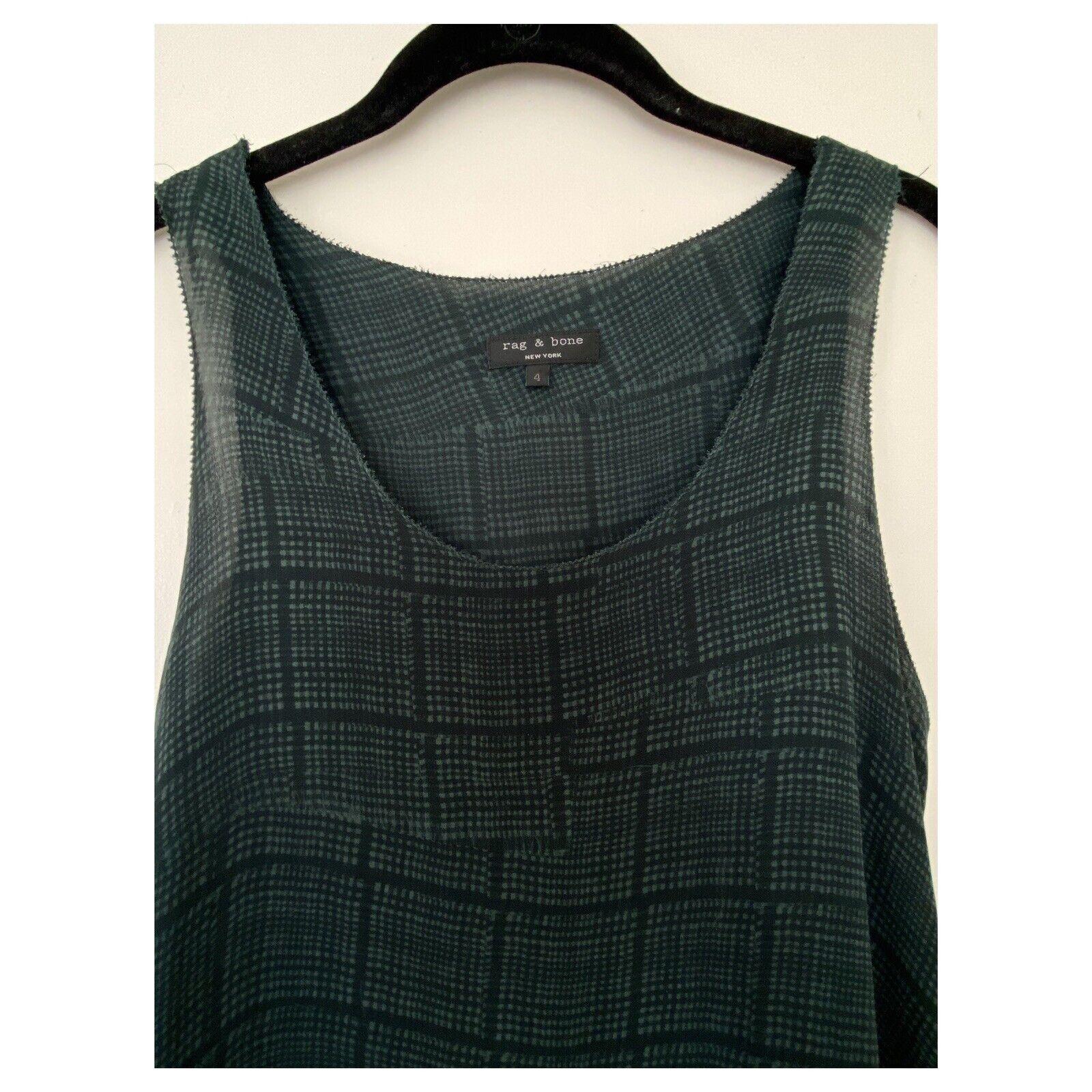 rag and bone silk blouse size 4 excellent conditi… - image 2