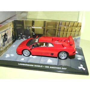 Details About Lamborghini Diablo Die Another Day J Bond Altaya 1 43