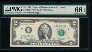 1988-A $1 FRN Web Press F-V Block Run 2 Combo 9-4 Fine