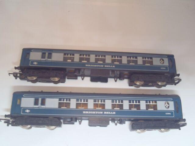 Wrenn OO Gauge W3004/5 Brighton Belle 2 Car Set, boxed