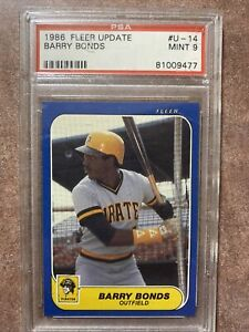 1986-Fleer-Update-Barry-Bonds-Pittsburgh-Pirates-14-Baseball-Card