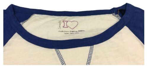 shirt leon Donna bluette Saint Lunga Ilove Barth T Ecru Stampa Con Manica dtqwvE6z