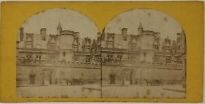 Museo Da Cluny Parigi Francia Foto Stereo Vintage Albumina c1865