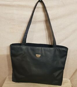 ZEN ZATIO Damentasche EDEL Schulter Hand LEDER Tasche Bag Shopper Dunkel Blau 1A