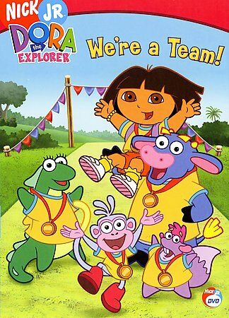 Dora The Explorer Were A Team Dvd 2006 For Sale Online Ebay