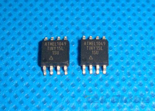 2PCS ATTINY15L-1SU ATTINY15L-1 ATTINY15 WSOP-8 Flash IC