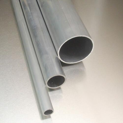 Aluminium Rohr Ø 70x3mm AlMgSi0,5 Länge wählbar Alu Rundrohr Profil Alurohr
